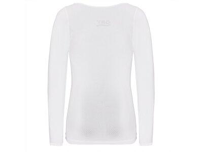 TAO Atmungsaktive Damen Funktionsunterwäsche langarm Shirt LONG SHIRT Pink