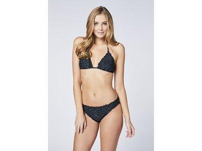 CHIEMSEE Triangel Bikini mit Rüschenkante Schwarz