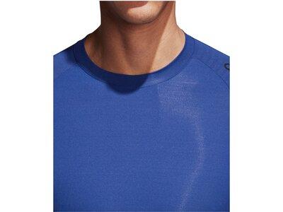ADIDAS Herren Funktionsunterhemd Alphaskin Tec Blau