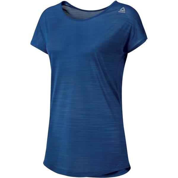 REEBOK Damen Trainingsshirt Workout Ready ActivChill Kurzarm