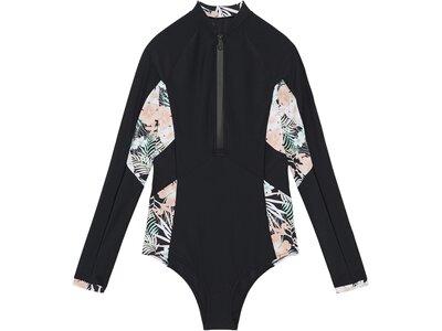 CHIEMSEE Langarm-Badeanzug mit UV 50+ Schwarz