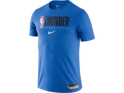 "NIKE Herren Basketballshirt ""NBA Oklahoma City Thunder"" Kurzarm Blau"