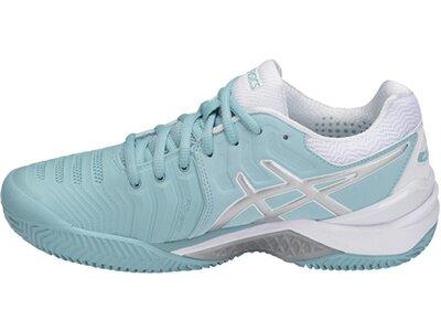 """ASICS Damen Tennisschuhe Outdoor """"Gel Resolution 7 Clay"""" Grau"""