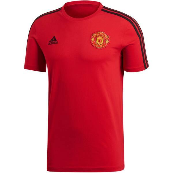 ADIDAS Herren Fußballshirt Manchester United Kurzarm Saison 2018/19