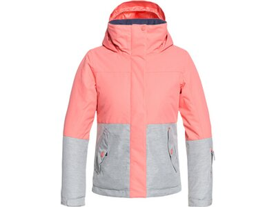 ROXY Kinder Snow Jacke ROXY Jetty Block Pink