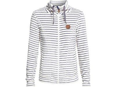 ROXY Damen Funktions-Fleece mit Reißverschluss Eskimo Weiß