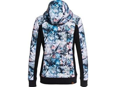 ROXY Damen Funktioneller Zip-Up Hoodie Frost Blau