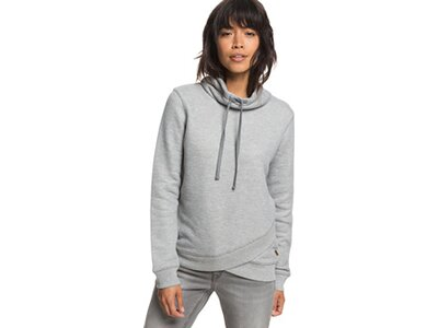 ROXY Damen Sweatshirt mit hohem Kragen Seasons Change Grau