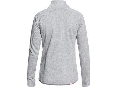ROXY Damen Funktions-Fleece mit Reißverschluss Harmony Shimmer Grau