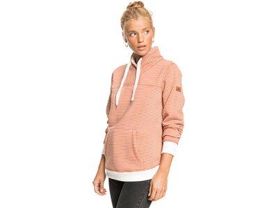 ROXY Damen Kapuzensweat BOAT TRIP STRIP Pink