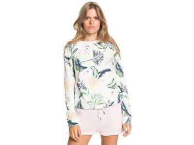 ROXY Damen Sweatshirt Dive Deep Weiß