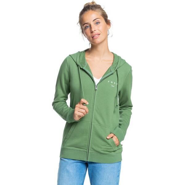 ROXY Damen Organic-Kapuzenpullover mit Reißverschluss Day Breaks