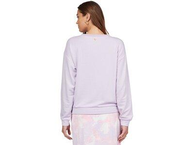 ROXY Damen Super weiches Sweatshirt Surfing By Moonlight A Pink