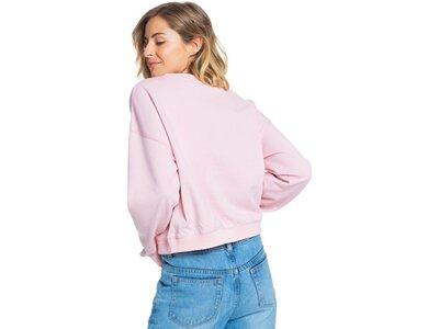 ROXY Damen Organic-Sweatshirt Break Away pink