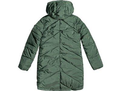 ROXY Damen Mantel STORM WARNING Grau