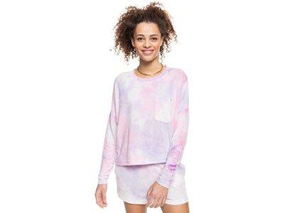 ROXY Damen Gemütliches Langarm-Batik-Oberteil Sunshine Spirit Pink