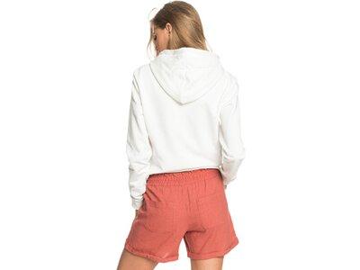 ROXY Damen Leinen Shorts Another Kiss Weiß