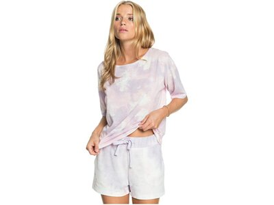 ROXY Damen Batik-Shorts Magic Hour Pink