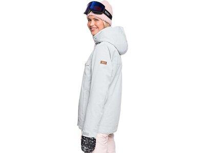 ROXY Damen Funktionsjacke BILLIE Grau