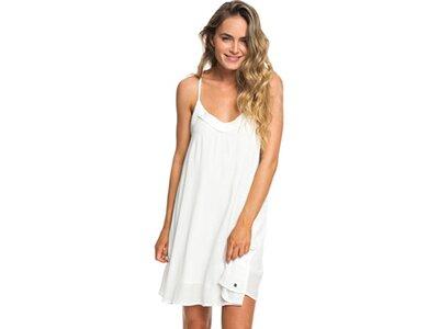 ROXY Damen Trägerkleid Off We Go Weiß