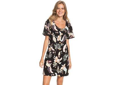 ROXY Damen Kurzärmliges Kleid All Eyes On Love Braun