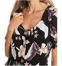 Vorschau: ROXY Damen Kurzärmliges Kleid All Eyes On Love