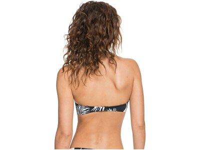ROXY Damen Vorgeformtes Bandeau-Bikinioberteil Printed Beach Classics Schwarz