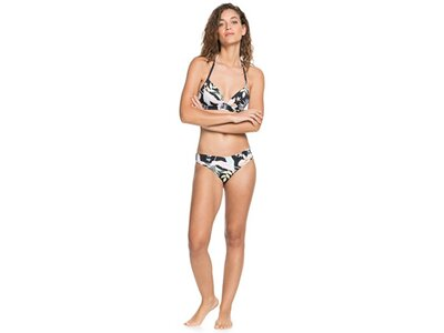 ROXY Damen Vorgeformtes Tri Bikini Top Printed Beach Classics Braun