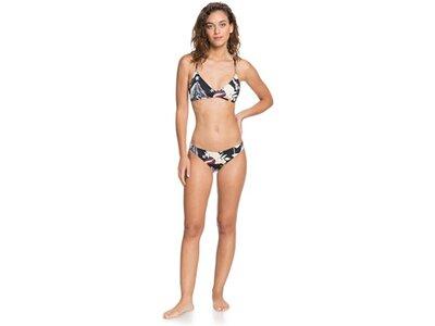 ROXY Damen Bikinihose mit mittlerer Bedeckung Printed Beach Classics Schwarz