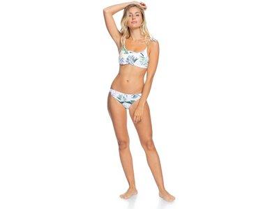 ROXY Damen Bikinihose mit mittlerer Bedeckung ROXY Bloom Weiß