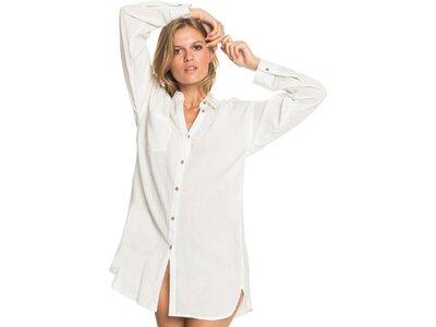 ROXY Damen Strand-Hemd-Kleid Good Surf Time Pink