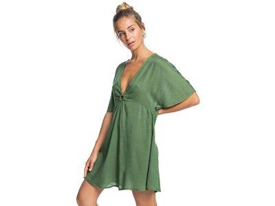 ROXY Damen Strandkleid Summer Cherry Grün