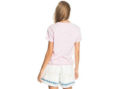 ROXY Damen Nachhaltiges T-Shirt Epic Afternoon Word A Pink