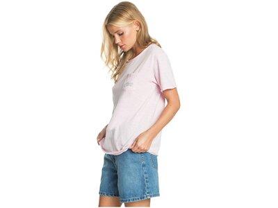 ROXY Damen T-Shirt Star Solar A pink