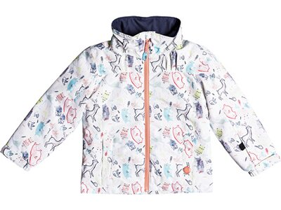 ROXY Kinder Snow Jacke Mini Jetty Weiß