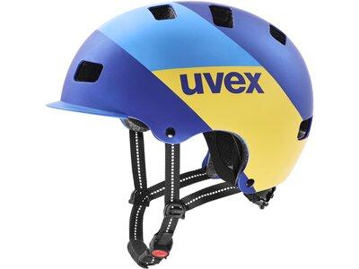 Uvex Radhelm 5 Bike Pro Blau