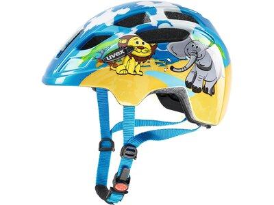 Uvex Finale Kinder Fahrradhelm Blau
