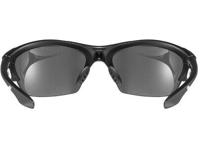 """UVEX Sonnenbrille / Sportbrille """"BLAZE"""" Schwarz"""