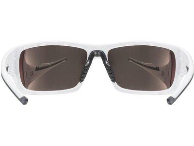 Uvex Sportstyle 222 pola Brille Weiß