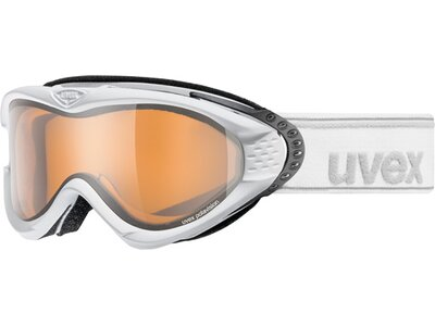 Uvex Onyx pola Skibrille Weiß