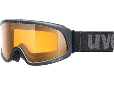 Uvex Skibrille splash black sl/goldlite Schwarz