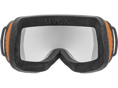 UVEX Herren Skibrille Schwarz