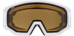 Vorschau: Uvex Skibrille athletic P white mat dl/pola-clear