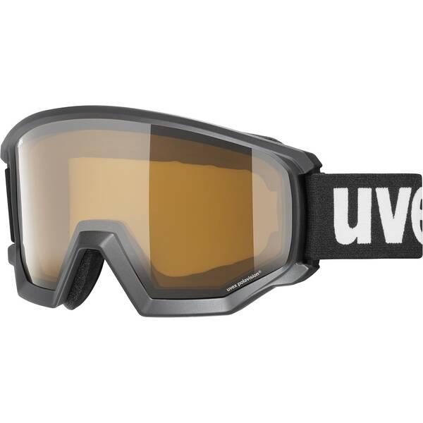 Uvex  Skibrille athletic P white mat dl/pola-clear