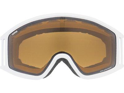 Uvex Skibrille g.gl 3000 P black dl/pola-clear Weiß