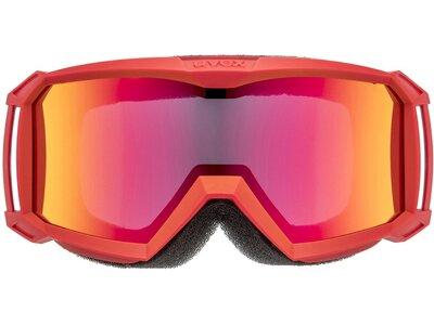 UVEX Kinder Ski- und Snowboardbrille Flizz LG Rot