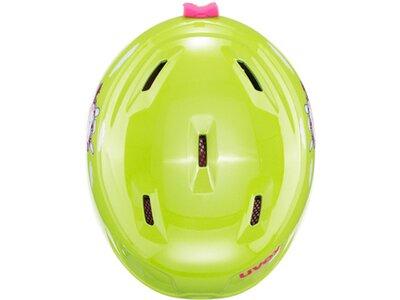 UVEX Kinder Helm Manic Grün