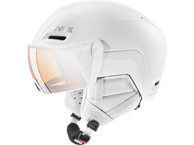 Uvex Skihelm hlmt 700 visor strato mat 55-59 Weiß