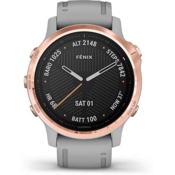 GARMIN GPS-Multisport-Smartwatch FENIX 6S SAPPHIRE