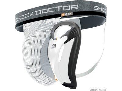 SHOCK DOCTOR Suspensorium Weiß